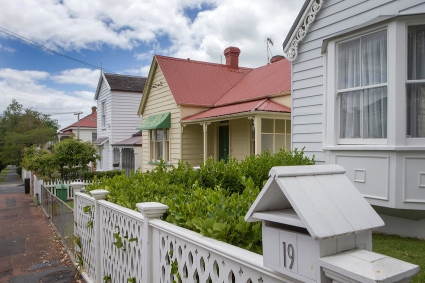 a row of houses which may need a check to see if they need insulation for rental properties